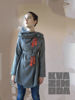 Picture of GREY VISCOSE BLOUSE SUDOKU