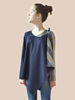 Picture of COTTON TUNIC DIDOUBLE IN TWO COLORS